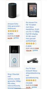 Amazon.de korting op Amazon apparaten & accessoires