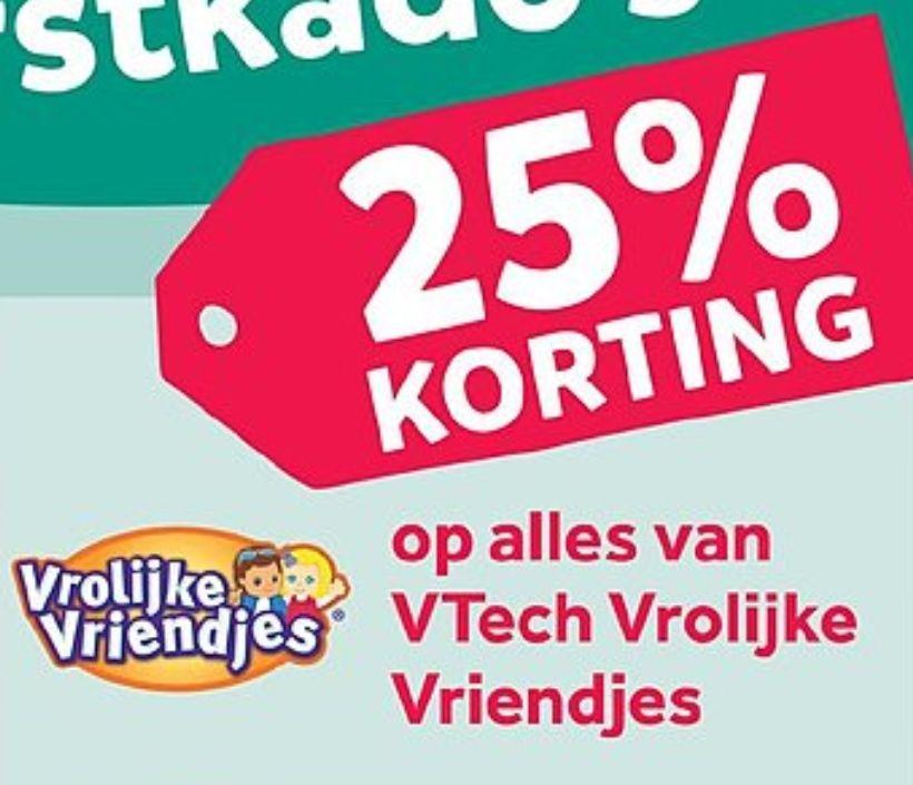 25% Korting op alles > VTech Vrolijke Vriendjes @Intertoys