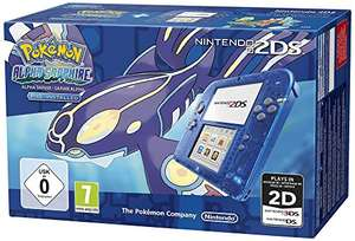 Nintendo 2DS Console + Pokemon: Alpha Sapphire voor €102,10 @ Amazon.fr