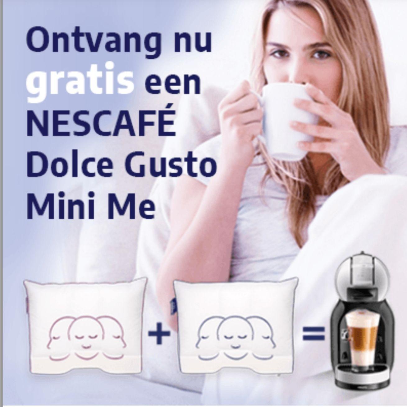Gratis Nescafé Dolce Gusto Mini me bij aankoop van 2 kussens @ Silvana