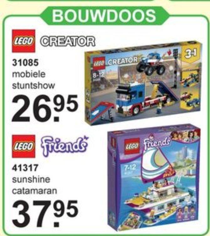 LEGO Creator 31085 en Friends 41317 voordelig bij Van Cranenbroek