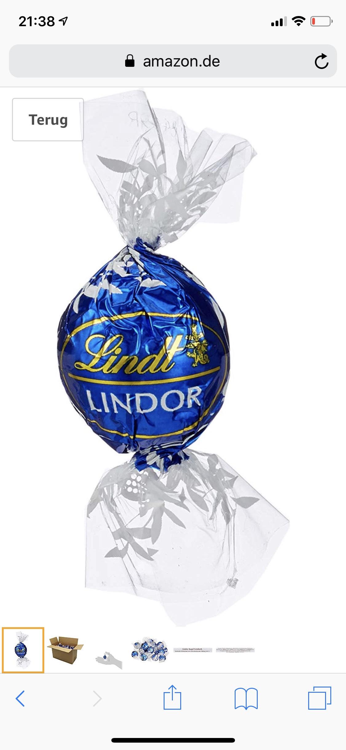 Lindt chocolade 3kg