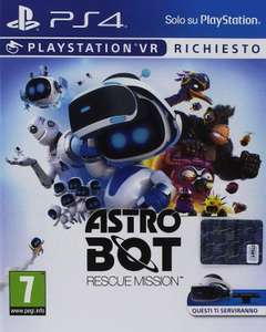 Astro Bot: Rescue Mission en andere PS VR Titels @ Amazon.it