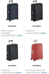 Amazon.de deal van de dag: Samsonite koffers