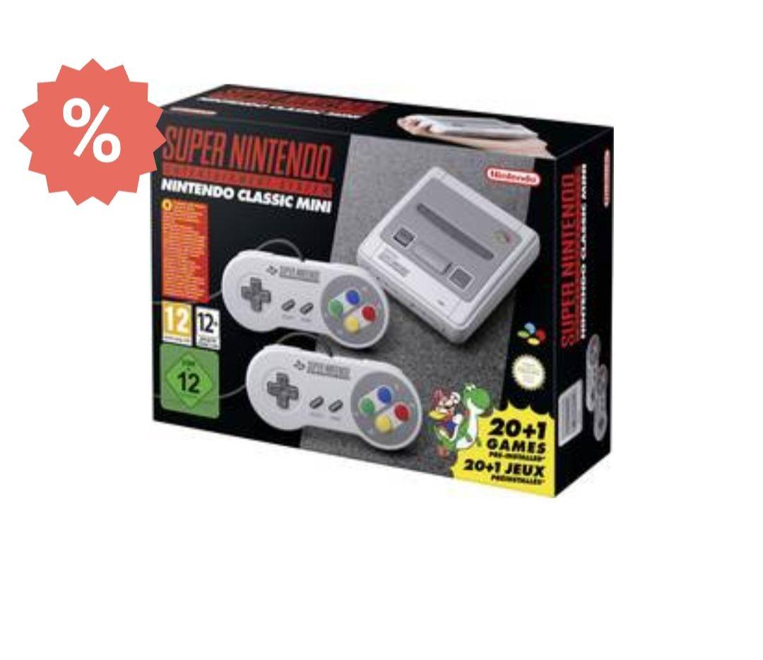 Nintendo Classic Mini Super Nintendo Grijs Incl. 2 controllers