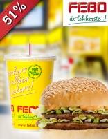 [UPDATE] Broodje hamburger naar keuze + een milkshake gratis @ Febo Tilburg (Socialdeal)