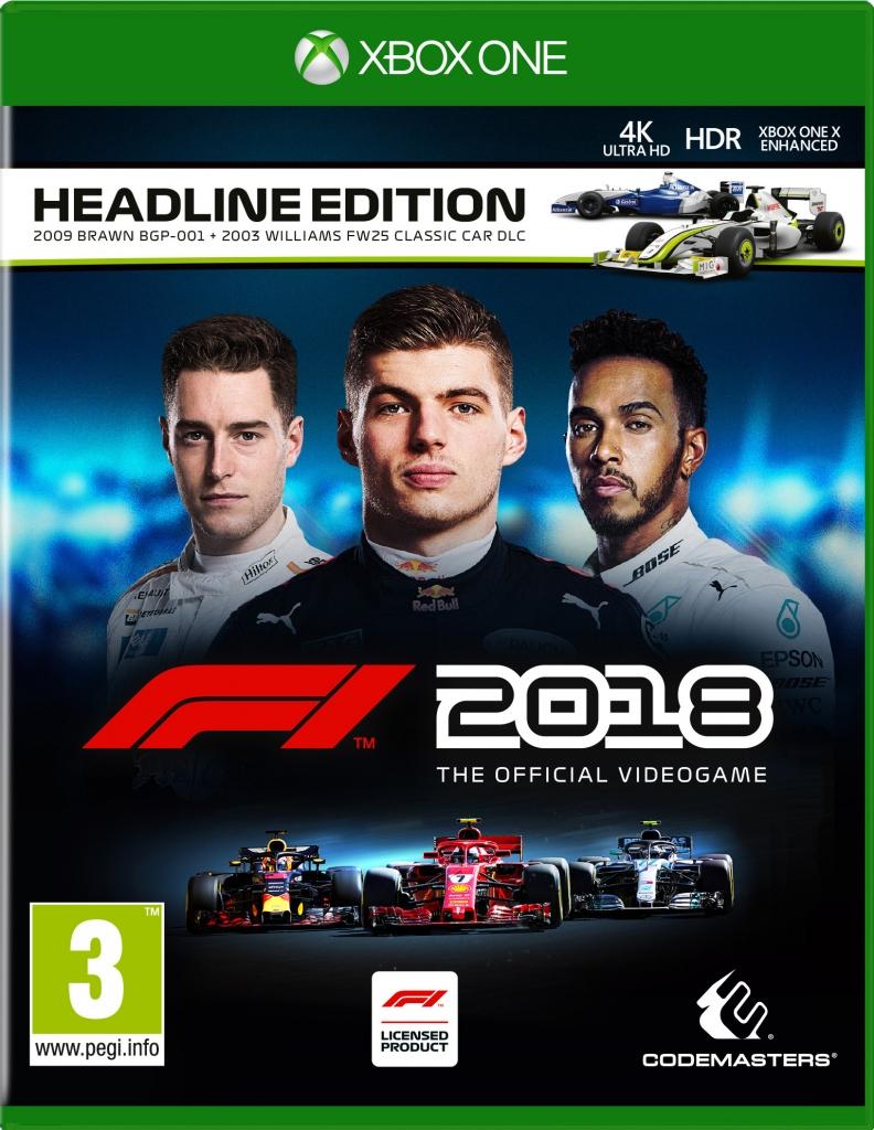 F1 2018 Headline Edition - voor €39,99 @ Nedgame