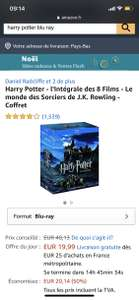 [Blu-Ray] Harry Potter - The Complete 8 Movies - The Wizarding World door J.K. Rowling - Box Set