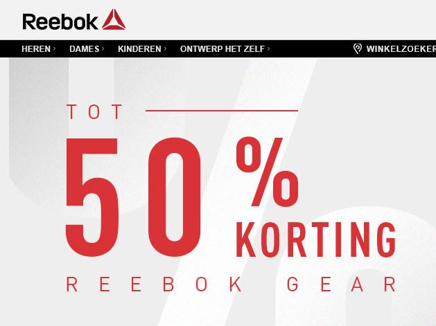 Reebok SALE & Reebok Outlet Tot 50% Korting Aanbiedingen