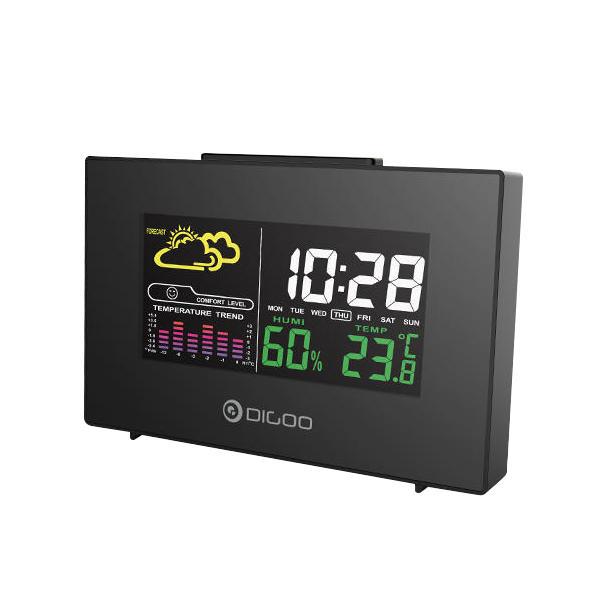 Digoo DG-C3 Weerstation / Hygrometer / Thermometer en Alarmklok voor €4,40