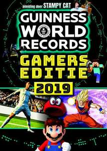Guinness World Records Gamer's edition 2019 dagdeal 9,95@bookspot