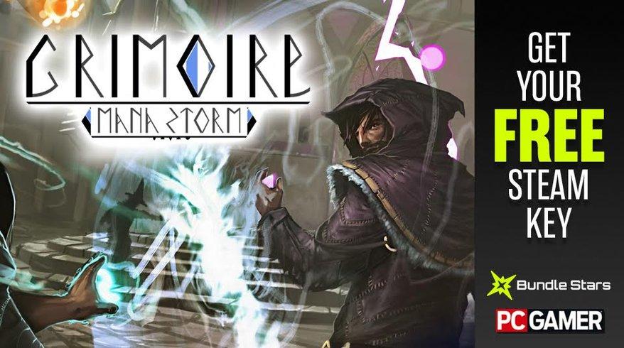 Gratis game Grimoire: Manastorm (Steam) @ PCGamer