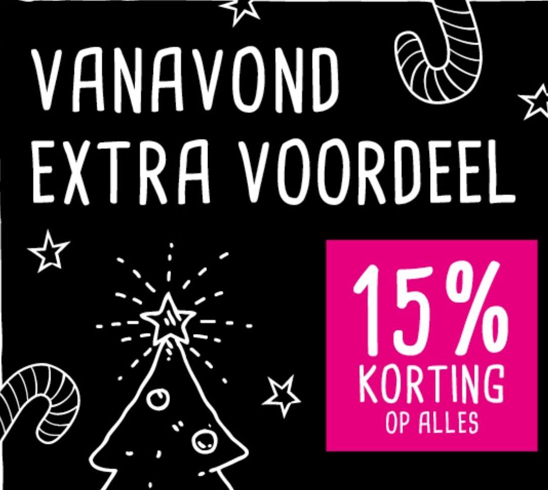 15% korting op alles bij Xenos online vanavond