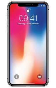 Iphone x 64gb 648 icm met t mobile abonnement