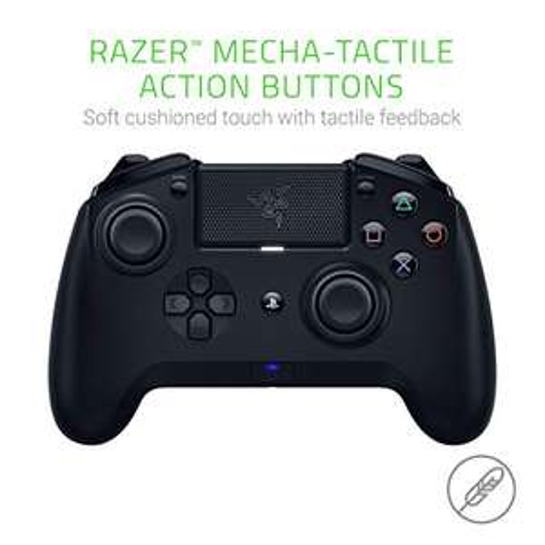 Razer Raiju Tournament Edition Draadloze en kabelgebonden gamingcontroller, zwart