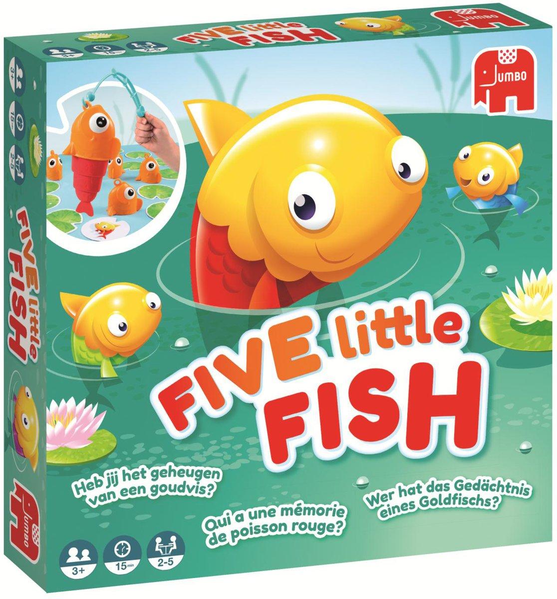 Jumbo Five Little Fish kinderspel voor €7,99 @ Bol.com