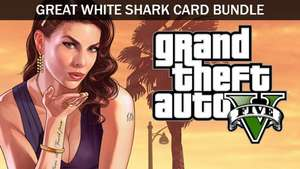 Grand Theft Auto V + Great White Shark Cash Card (PC) voor €12,14 @ Fanatical