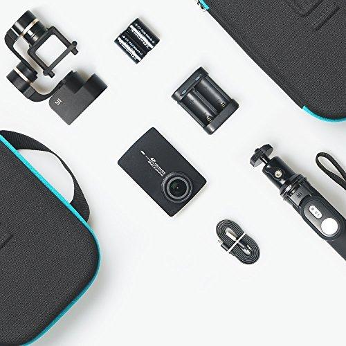 Yi 4K Action cam + Gimbal + BT Selfiestick + Extra batterij voor de cam @Amazon.fr