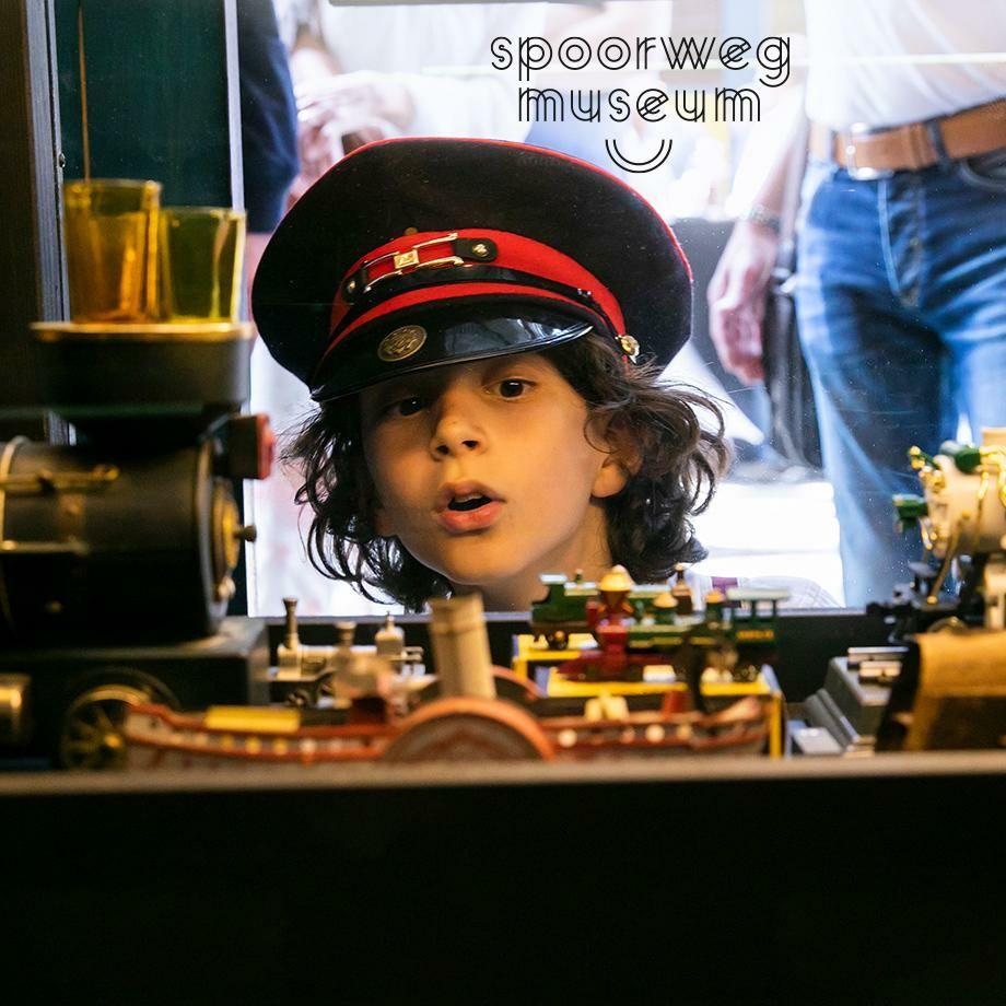 Spoorwegmuseum -50% via eurosparen