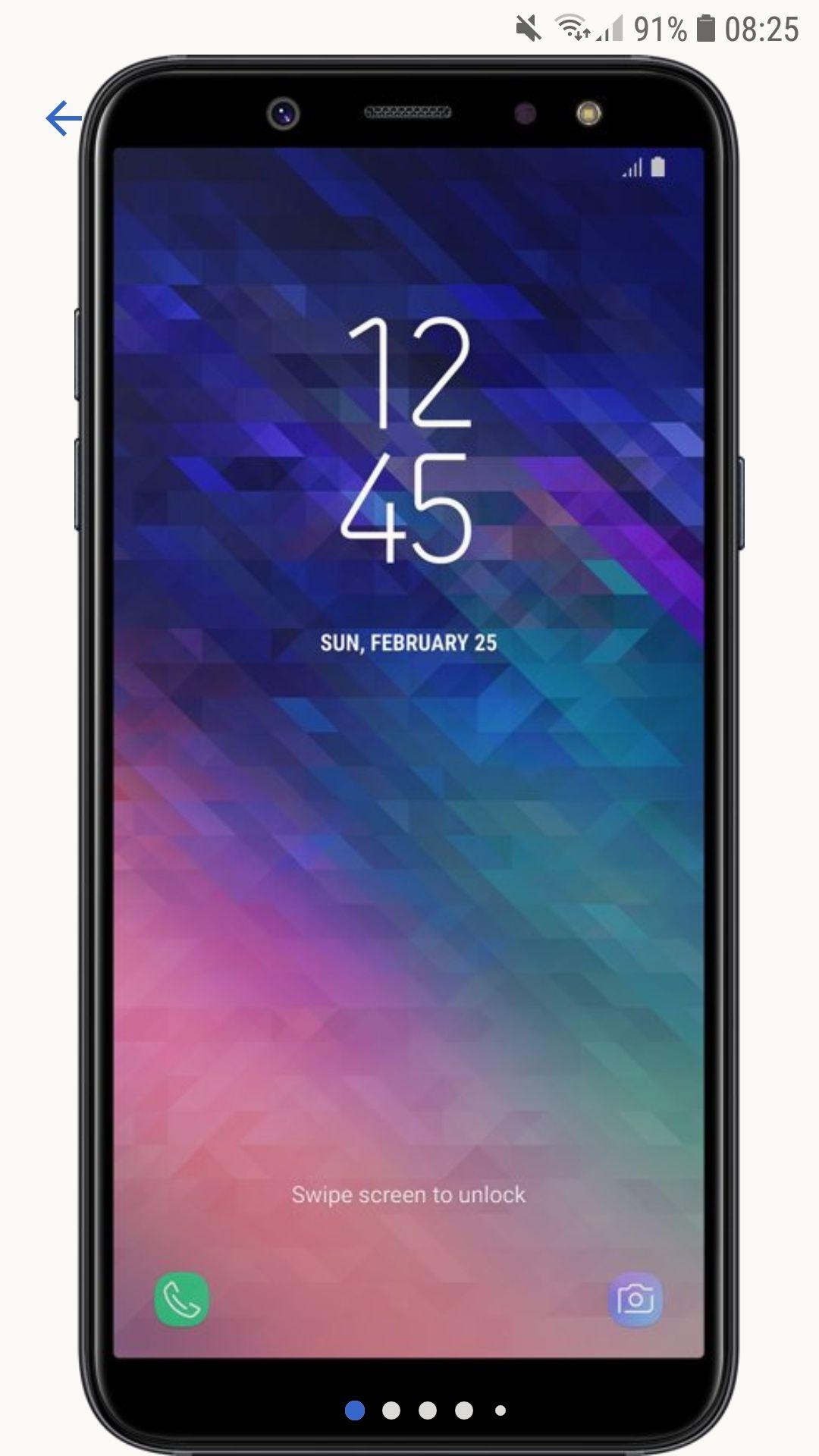 Samsung galaxy A6 - 32gb dual sim