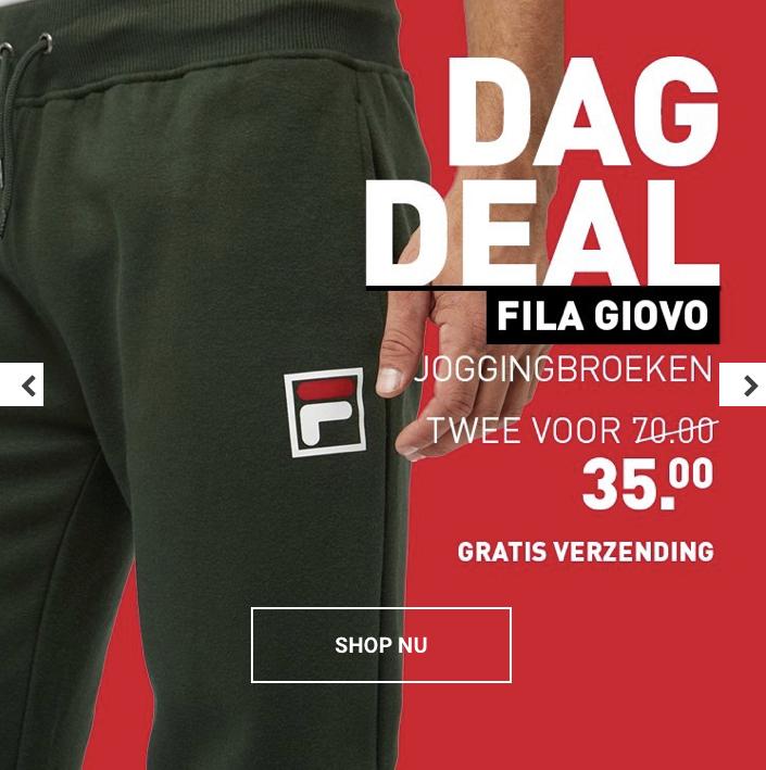Fila joggingbroeken 2 voor €35 & gratis verzending @Perry
