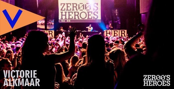 Voor €6,95 naar Zeroes Heroes [Poppodium Victorie Alkmaar] 02-02-2019