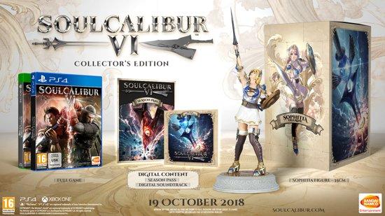Soul Calibur VI Collectors Edition(X1, PS4 uitverkocht) €49 @ Bol.com