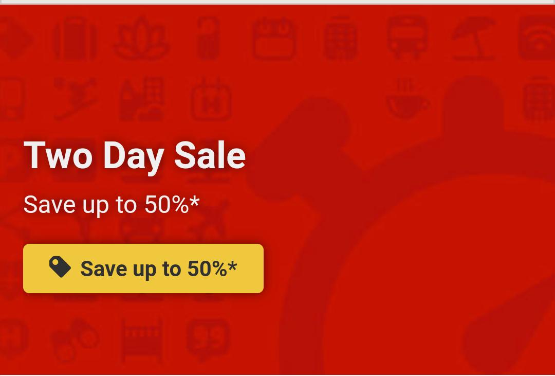 Flash sale bij Hotels.com met kortingen tot 50%