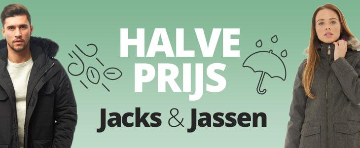 Tot 50% korting op jacks and jassen bij mandmdirect