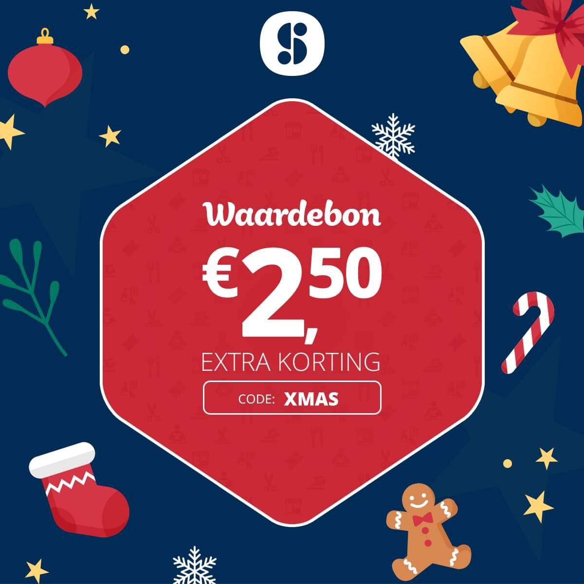 €2,50 korting @ Social Deal