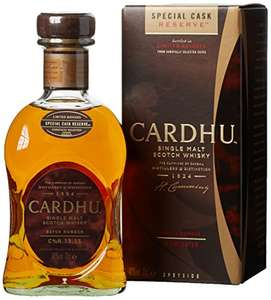 Cardhu special cask whiskey