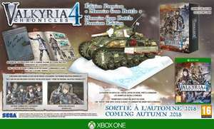 Valkyria Chronicles 4 Memoirs From Battle Collector Edition Xbox One 50% Goedkoper! Van € 99,00 Voor € 49,00.