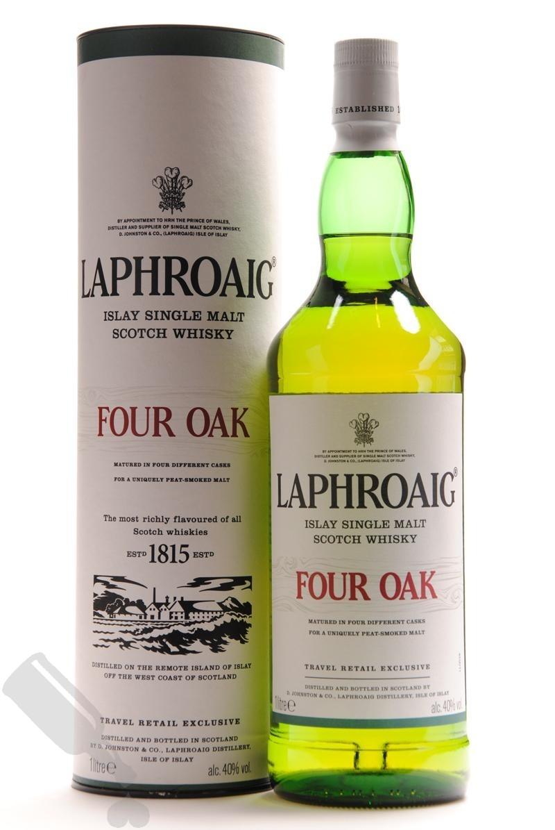 Laphroaig Four Oak 1L met forse korting