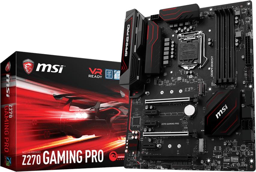 MSI Z270 Gaming Pro moederbord