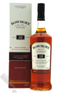BOWMORE 10 YEARS DARK & INTENSE 100CL