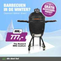 The Bastard Urban Medium Complete BBQ + accessoires t.w.v. €220 voor €777 @ Ep.nl