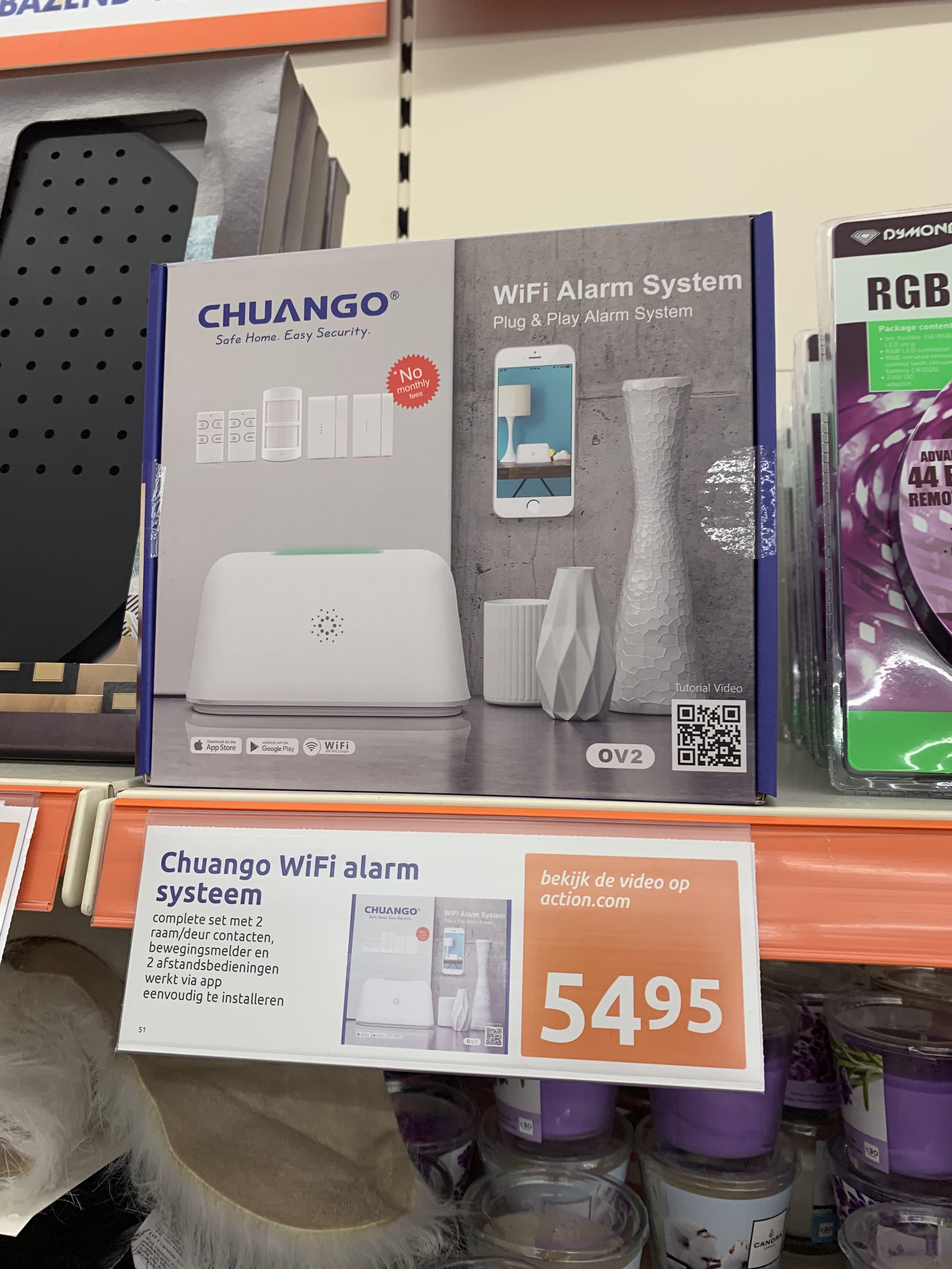 Chuango Wifi Alarm