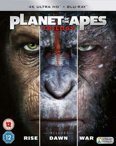 Planet Of The Apes Trilogy 4K