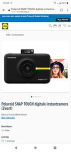 Polaroid snap touch. Instant camera