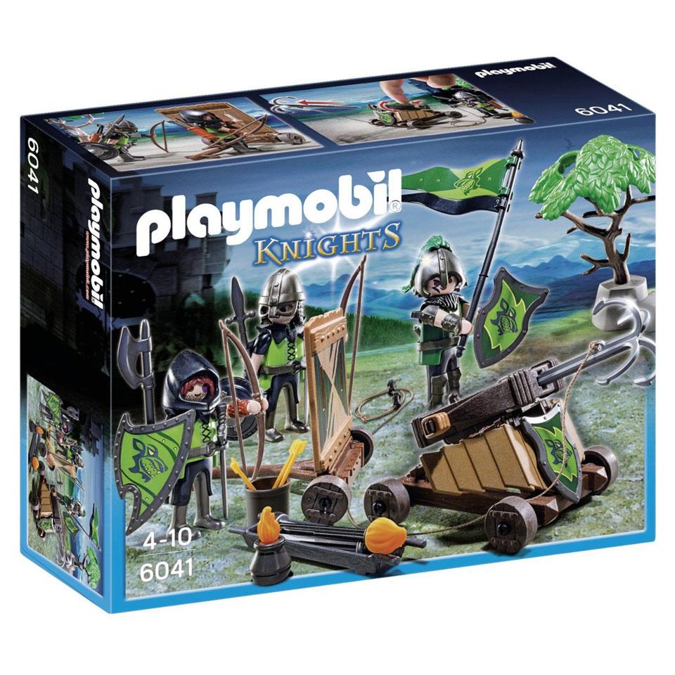 Tot 50% korting op speelgoed (o.a. Playmobil Ballista van de Wolvenridders - 6041 voor €8,99) @ Intertoys