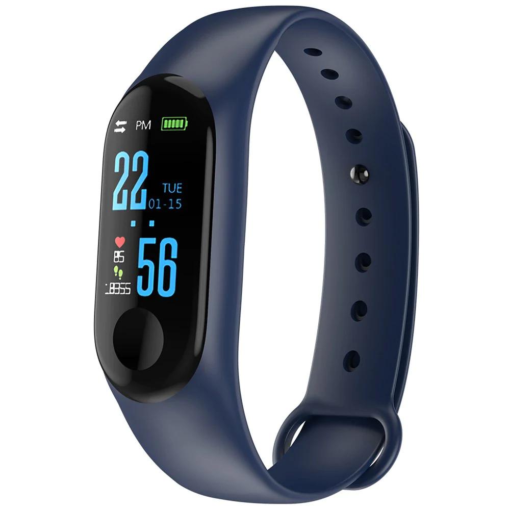 M3Plus OLED smart bracelet voor €3,52 @ Rosegal