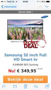 Secret deal @IBOOD Samsung 32 inch Full HD Smart TV