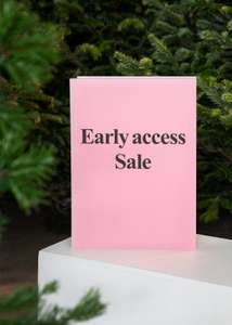 Early access sale tot 50% @ &Other Stories