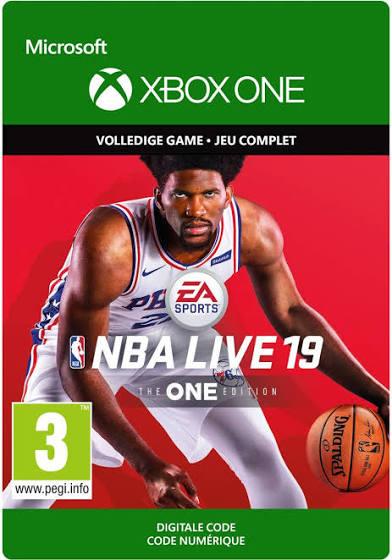 NBA Live 19 voor €10 (Gold-lid) @ Xbox Store