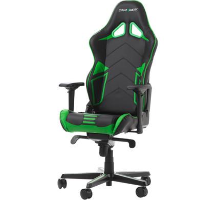 DX Racer RACING PRO Gaming Chair Zwart/Groen voor €259 @ Coolblue.nl
