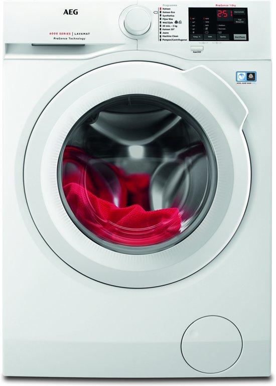 AEG 8kg 1600 toeren wasmachine