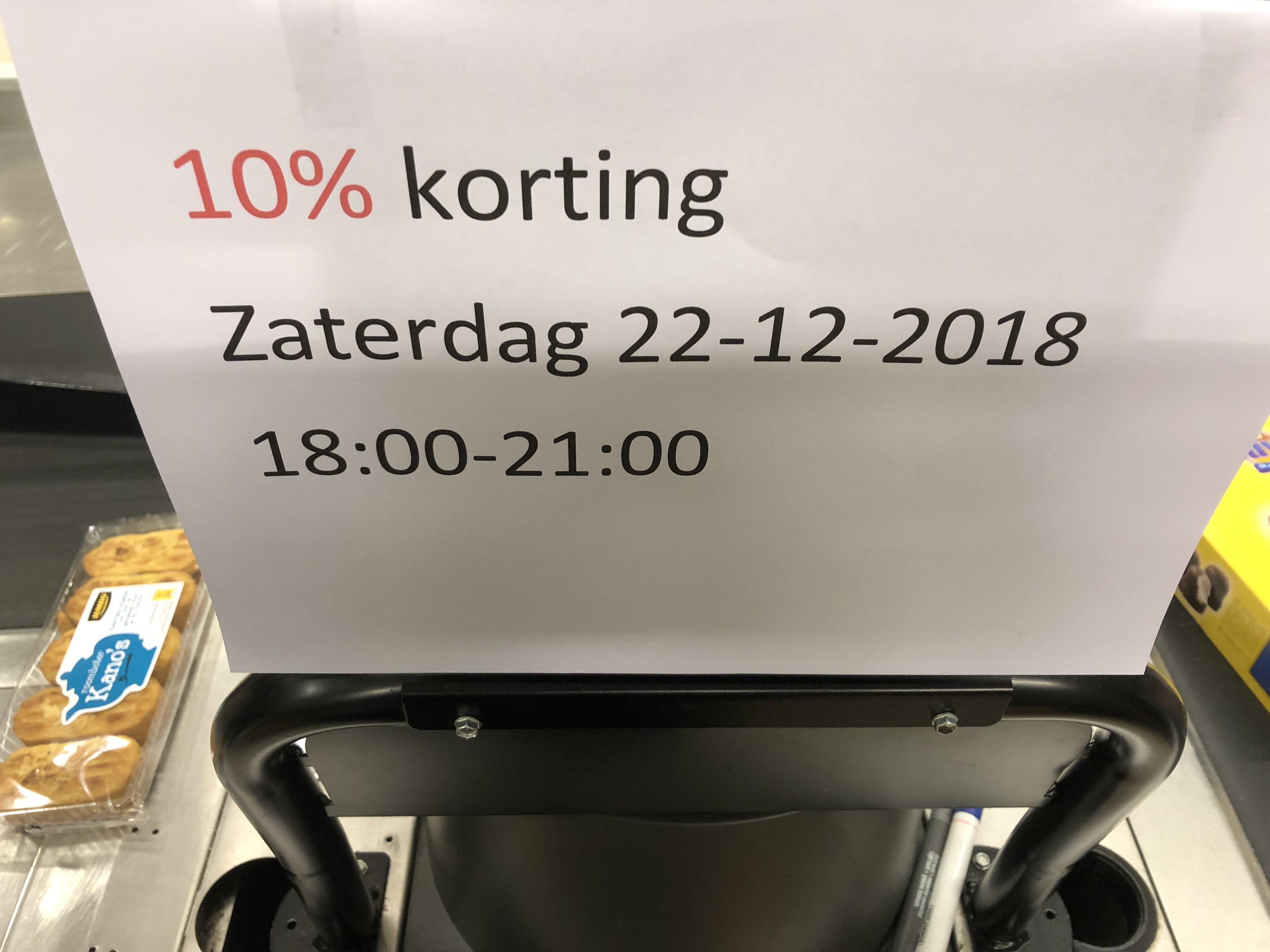 Jumbo Oost-Souburg (Zeeland) 10% korting