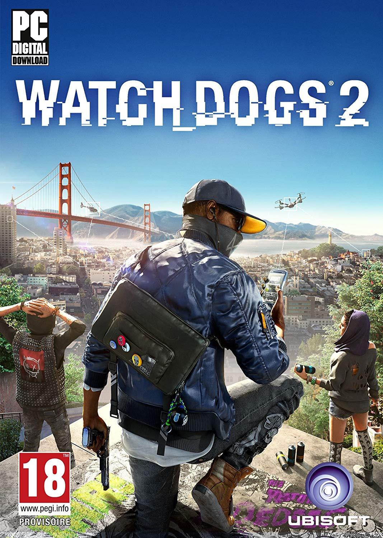 Watch_Dogs 2 [PC Code - Uplay] voor £2,15/€2,40 @ Amazon.co.uk