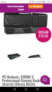 Madcatz strike 3 proffesional gaming keyboard azerty
