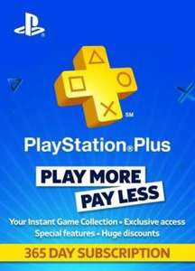 [Jaar Abonnement] PlayStation PLUS - 365 Days Subscription (Holland)
